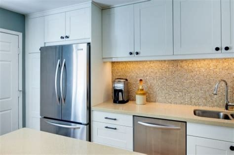 Kitchen Cabinets Around Refrigerator Ikea Refrigerator Cabinet Goenoeng