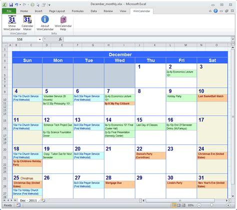 set calendar personalized calendar software