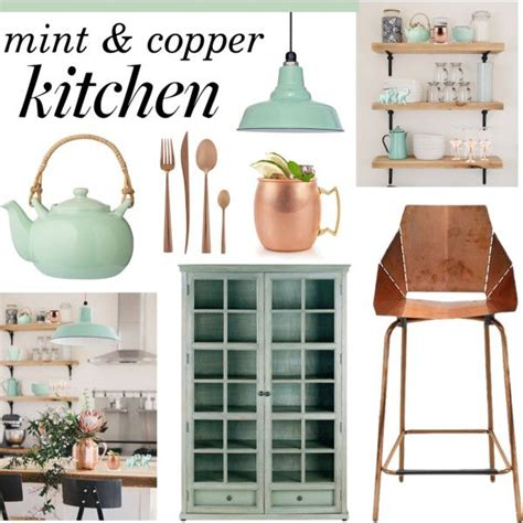 decorating a kitchen with copper 1000 ideas about mint kitchen on pinterest bathroom