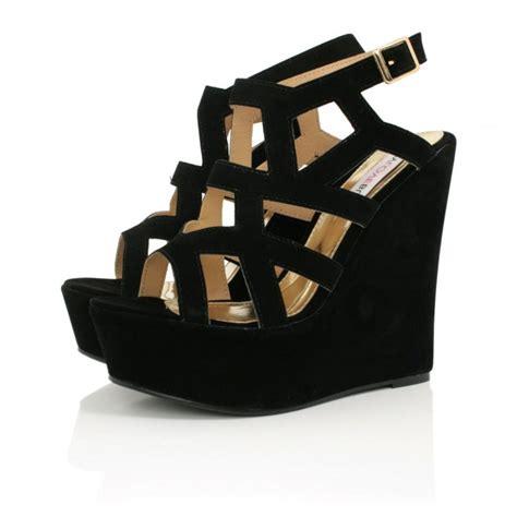 Terbaru Sandal Wedges Lovera Black black wedges shoes www imgkid the image kid has it