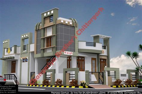 indian exterior house designs mr raj kumar ji gadiya house plan exterior design 3d naksha