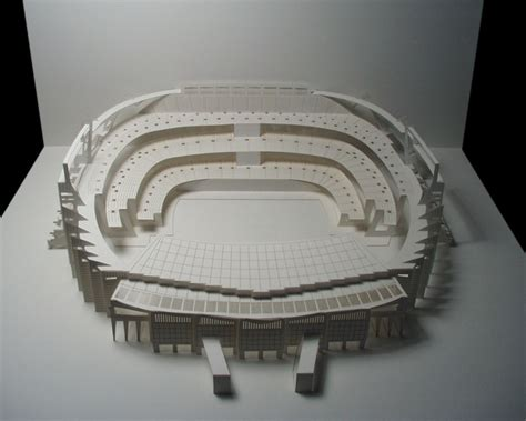 How To Make A Stadium Out Of Paper - stunning paper crafts from ingrid siliakus