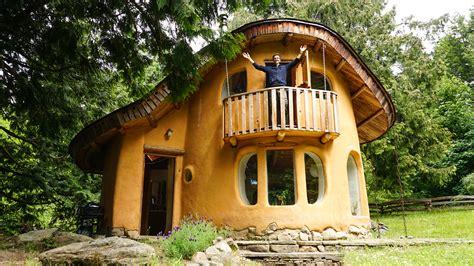 incredible house incredible cob house tour 2 story cob cottage originally