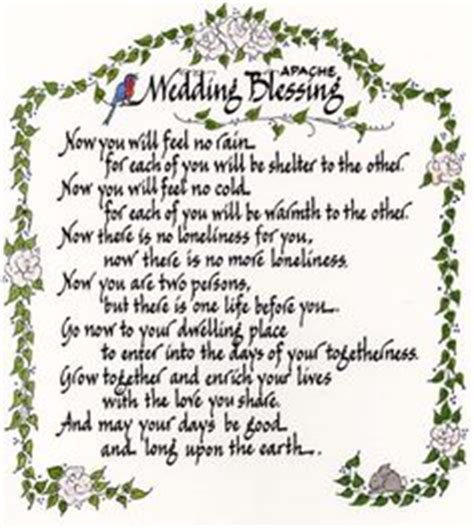 wedding blessing nature 1000 images about wedding on wedding script
