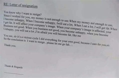 Best Resignation Letter Reddit 31 most resignation letters and that will