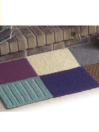 knit rug pattern 25 best ideas about knit rug on crochet