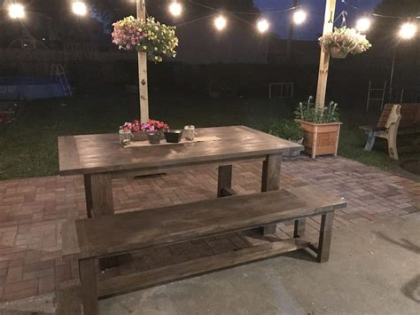 pin by shanty 2 chic outdoor table shanty 2 chic