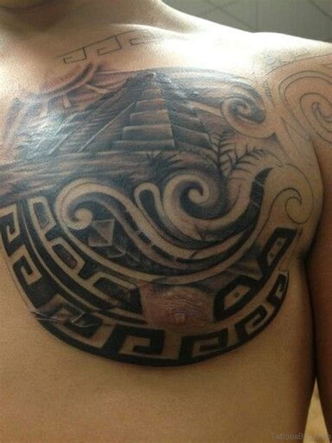 aztec eagle tattoo designs 50 aztec tattoos designs on chest