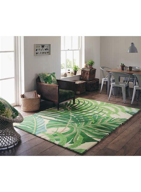 tapis salon tapis salon manila vert de la collection sanderson