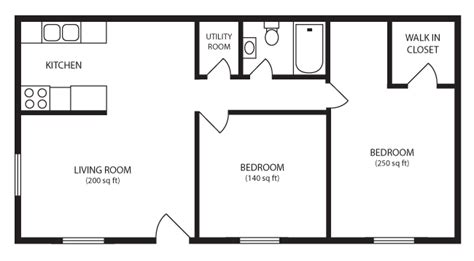 Two Bedroom Flat by Two Bed Flat Home Design