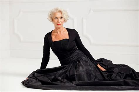 helen mirren hairstyles for l oreal helen mirren s crown is safe as she wows the us with