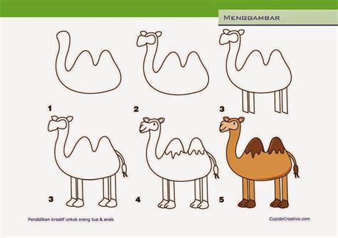 contoh storytelling untuk anak sd terbaru cara mudah kerajinan anak menggambar unta cupidocreativeblog