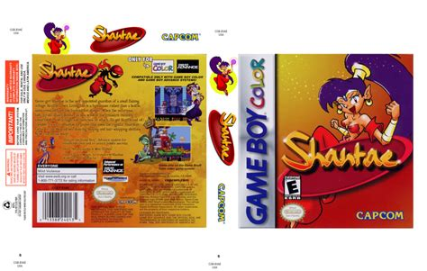 shantae gameboy color shantae usa gbc box by cboma18 on deviantart
