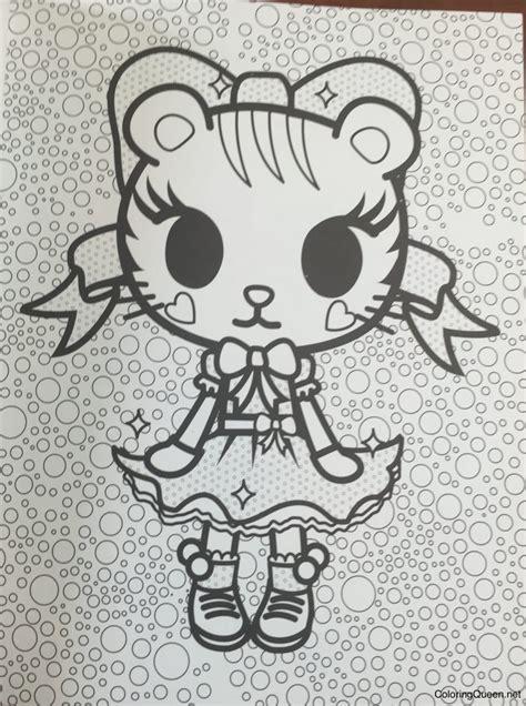 tokidoki unicorno coloring page tokidoki unicorno coloring pages