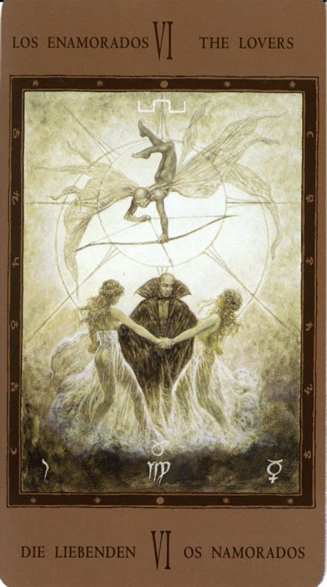 the labyrinth tarot the lovers labyrinth tarot 6 the lovers