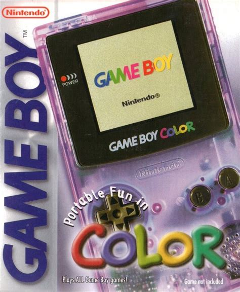 gameboy color purple nintendo gameboy colour retro consoles