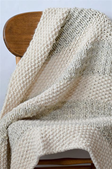 knitting blanket easy heirloom knit blanket pattern in a stitch