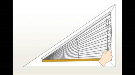 jalousie dreiecksfenster jalousien f 252 r dreiecksfenster haus ideen