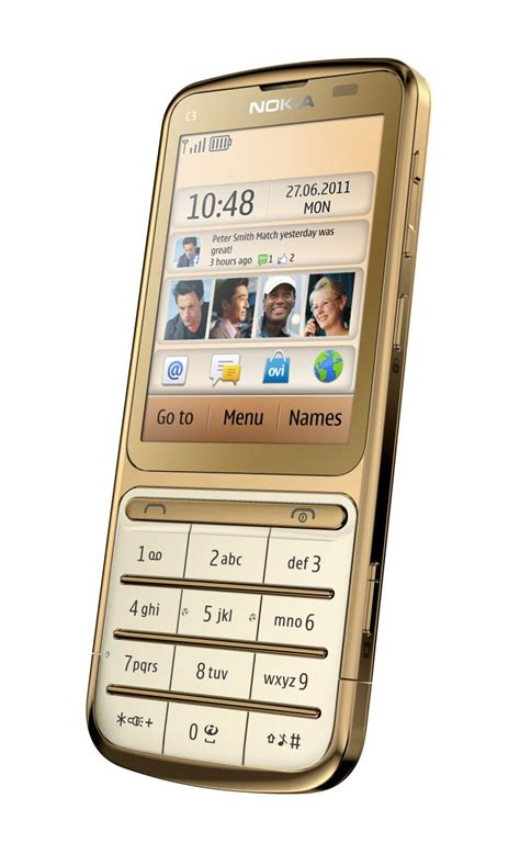 themes gold nokia nokia c3 01 gold edition with faster cpu for 220