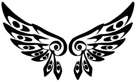 tattoo tribal wings designs image gallery tribal wings