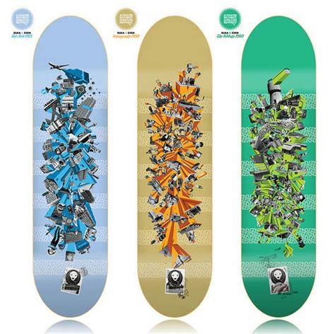 50 outstanding skateboard designs inspiration
