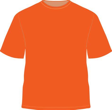 Tshirt Orange orange t shirt template