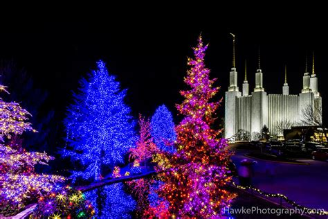 washington d c mormon temple christmas lights 2016