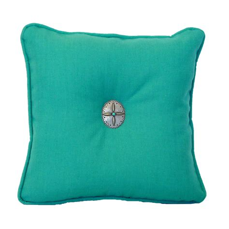 Turquise Pillows by Country Turquoise Sensu Mallard Accent Pillow