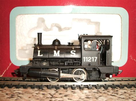 dapol pug dapol oo 0 4 0 lms pug locomotive no 11217