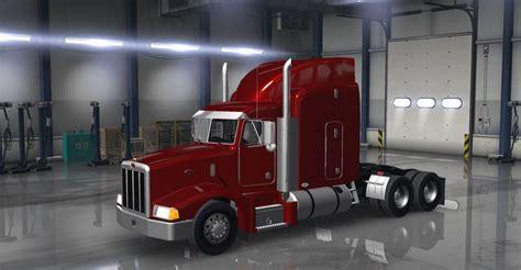 peterbilt trucks peterbilt 377 truck truck simulator mod ats mod