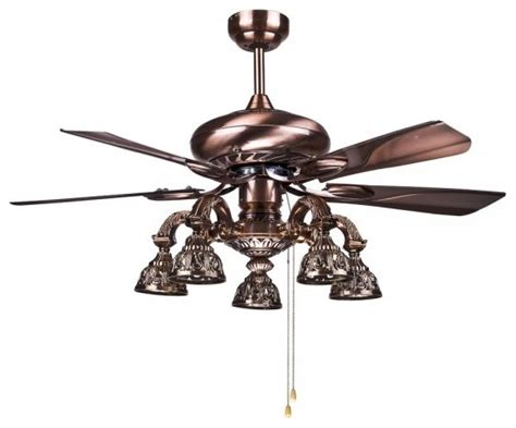vintage ceiling fan with light big antique brass ceiling fans l for living room