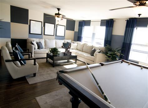 Sofa Pool Table 63 Finished Basement Quot Cave Quot Designs Awesome Pictures