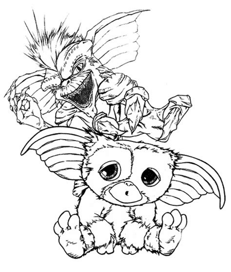 Gremlins Drawing Related Keywords Suggestions Gremlins Gremlins Coloring Pages