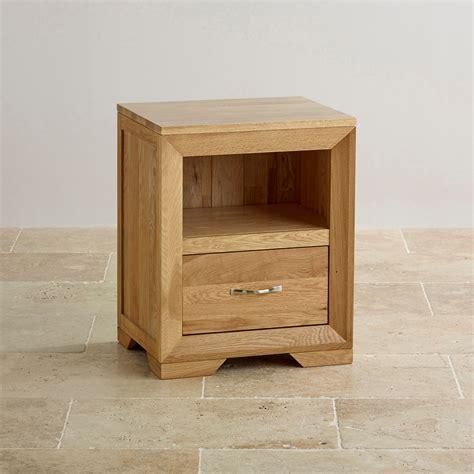 bedside table bevel bedside table in solid oak oak furniture land