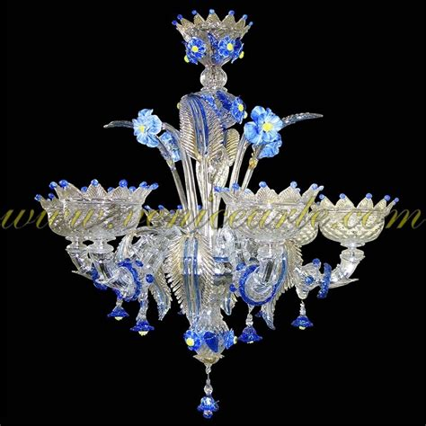 Murano Glass Chandelier 24 6 Murano Glass Chandelier