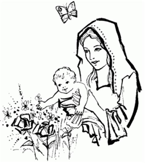 imagen virgen maria para pintar dibujos b 237 blicos para colorear e imprimir
