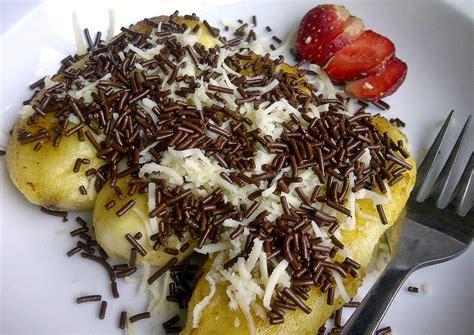 Pisang Coklat Keju Piscok Keju resep pisang goreng coklat keju