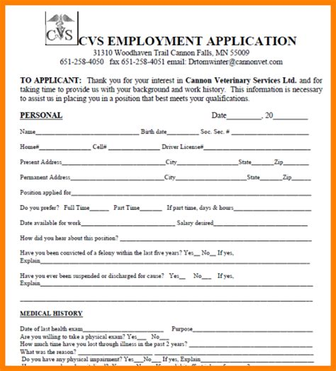 Mba Application Employment History Data Forms by 8 Application Form Print Ledger Paper
