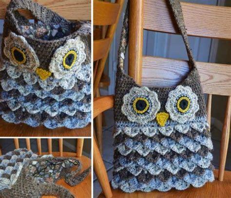 crochet pattern crocodile stitch bag crocodile owl stitch purse pattern is perfect beginner diy