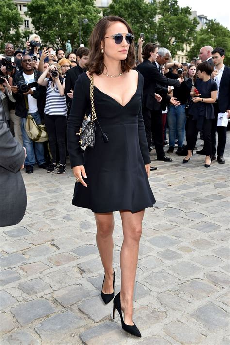 Natalie Portman Is Fashionable by Natalie Portman At Christian Show Arrivals Fall