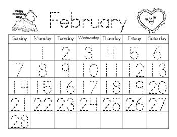 new perpetual calendar templates use forever ever cute