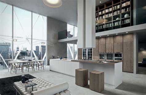 Impressionnant Loft Maison Du Monde #1: cuisine-design-blanche-bois.jpg