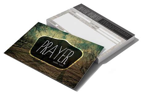 Church Prayer Request Cards Template by Prayer Request Card Card Templates On Creative Market