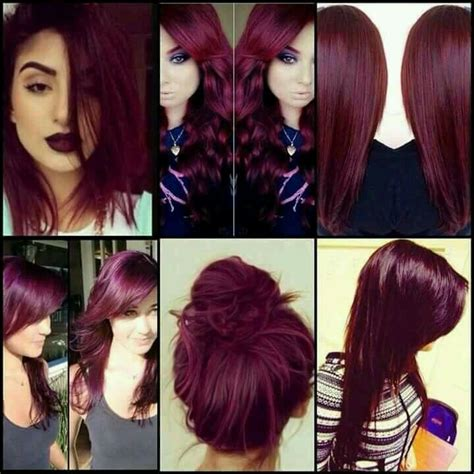 25 best ideas about wine hair on wine colored