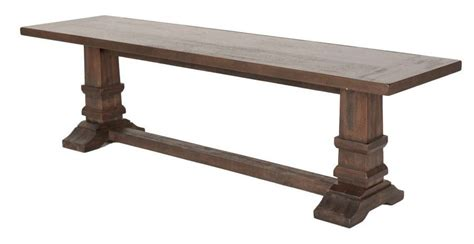 hudson bench hudson rustic java large dining bench from orient express