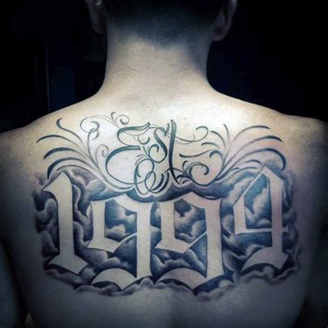 est 1986 tattoo designs 50 tattoos for retro font ink design ideas