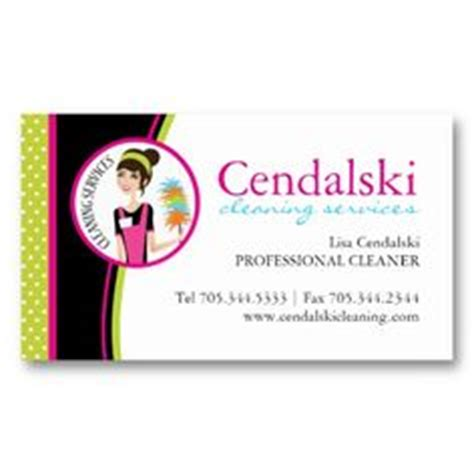 House Cleaning Business Cards by House Cleaning Business Cards On Cleaning