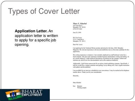 Sle Cover Letter Mentioning A Referral By Someone bharat employment cover letter
