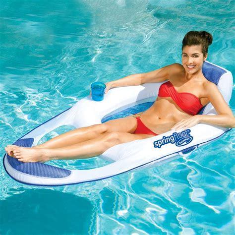 reclining pool float pool float spring float recliner 13018 13018