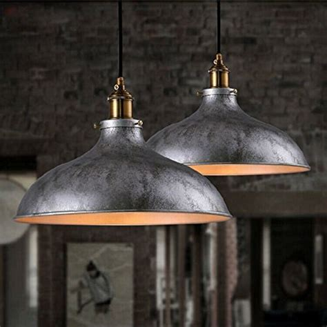 Baycheer Hl371906 Industrial Vintage Style Lid Shaped Pendant Light Dubai